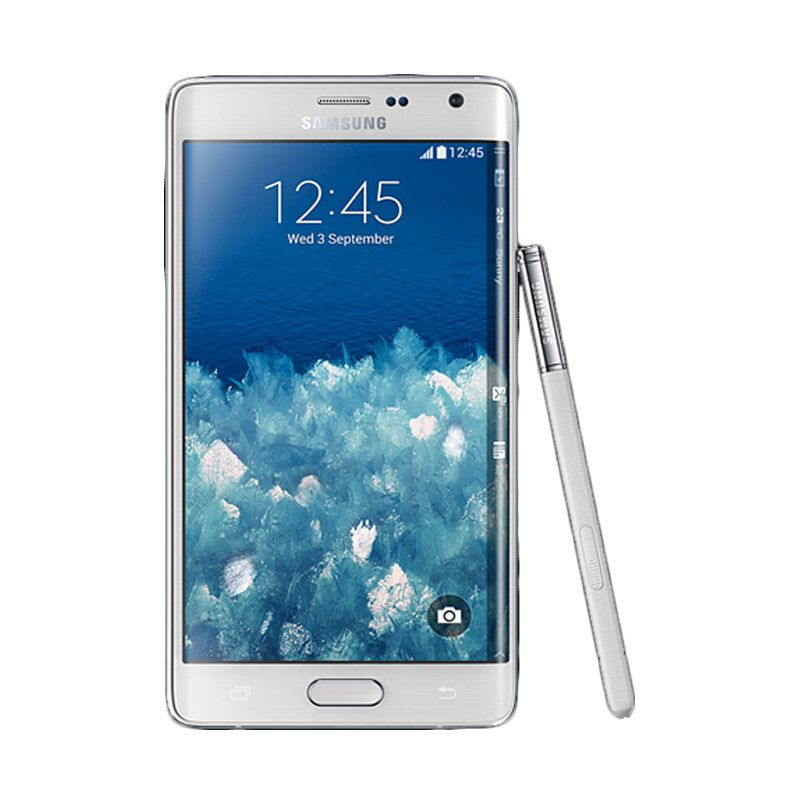 Samsung Galaxy Note Edge White Smartphone