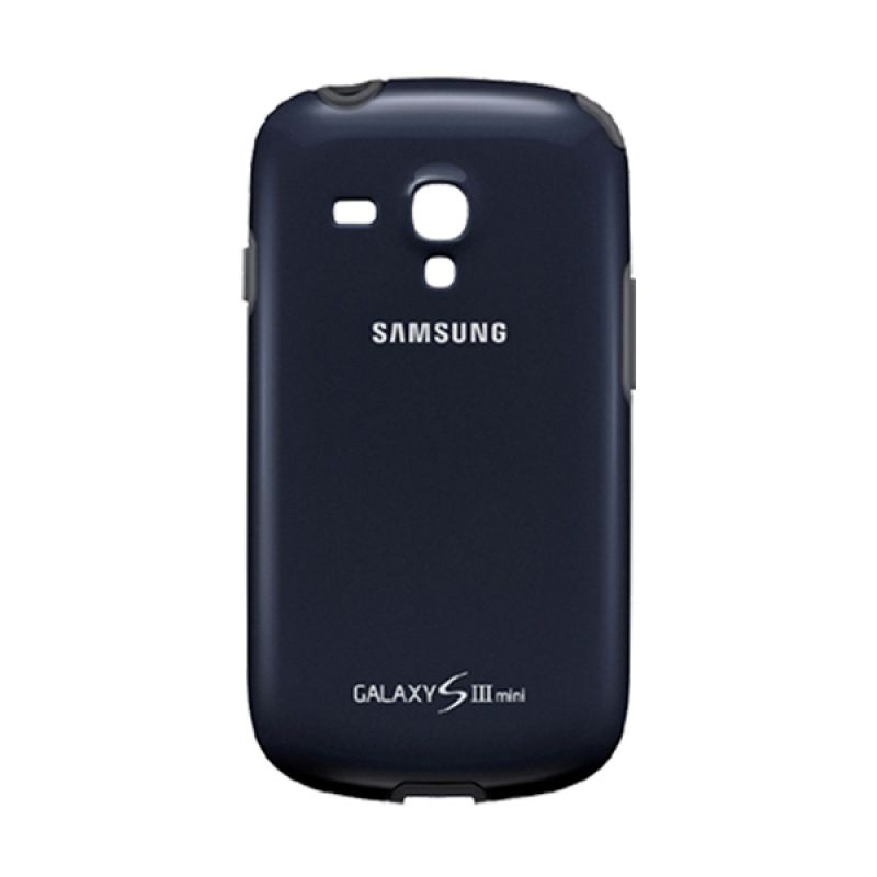 Samsung Protective Cover For Galaxy SIII Mini Blue Black