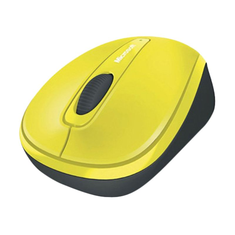 Microsoft Wireless Mobile Mouse 3500 Solar Yellow