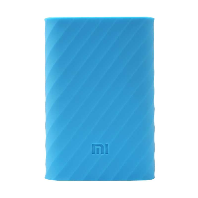 Xiaomi Silicone Casing for Xiaomi Powerbank [10000 mAh] - Biru