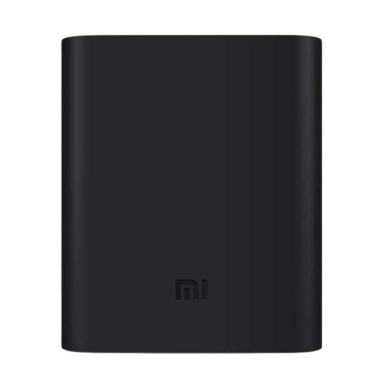 Xiaomi Silicone Casing for Xiaomi Powerbank [10400 mAh] - Hitam