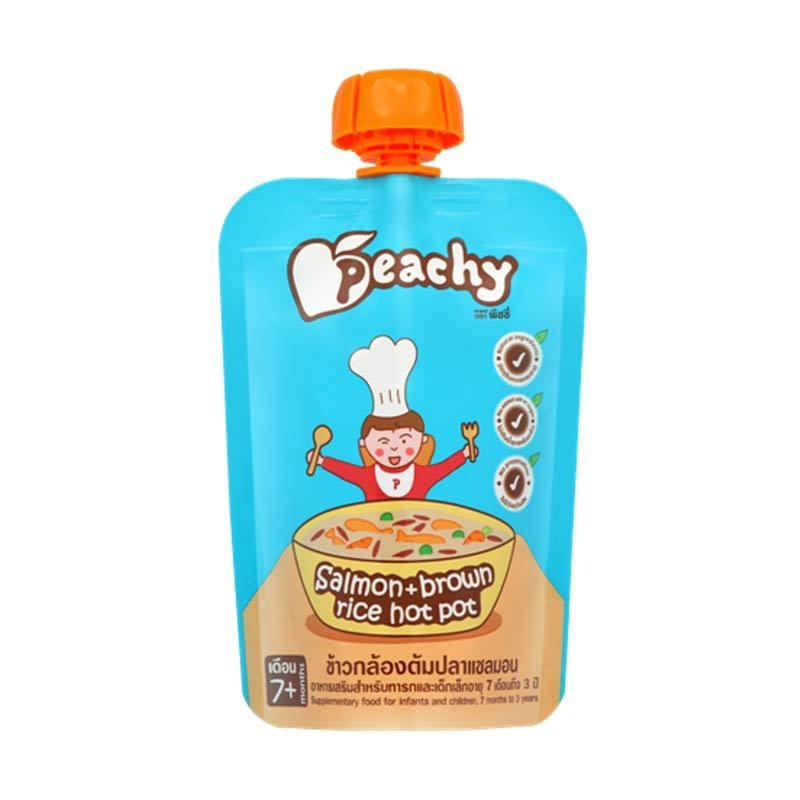 Peachy - Salmon & Brown Rice