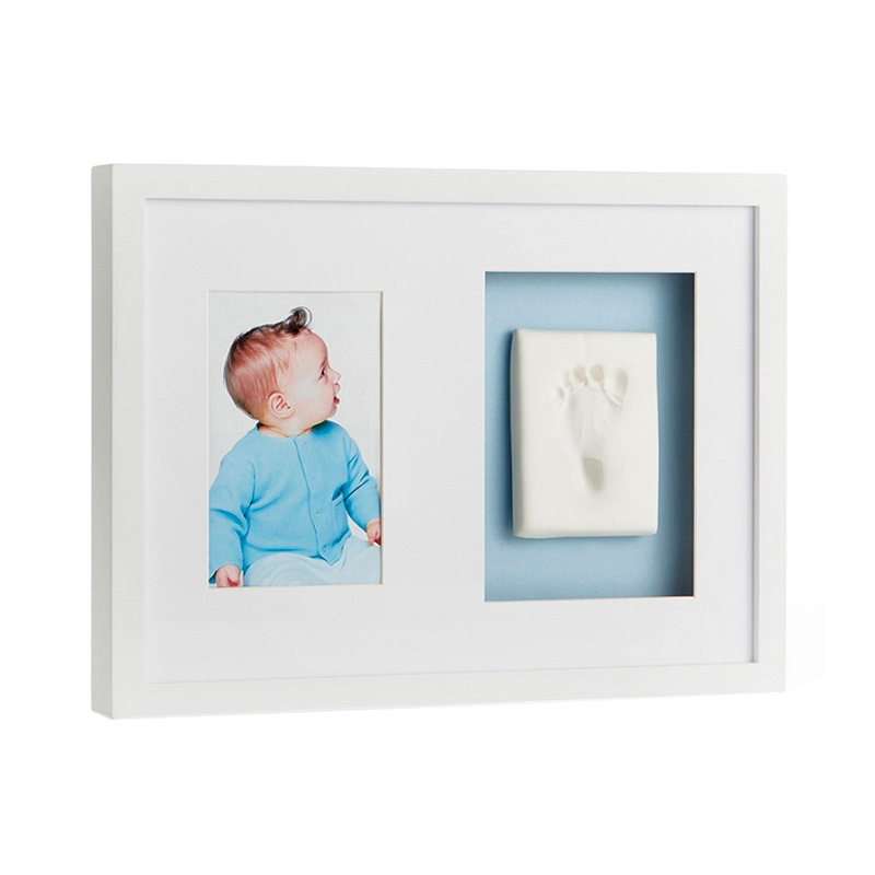 Pearhead Babyprints Wall Frame - White