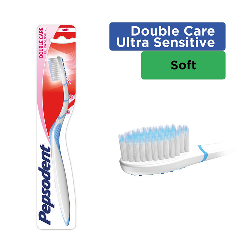 Pepsodent Double Care Ultra Sensitive Toothbrush [1 Pcs/21148326]
