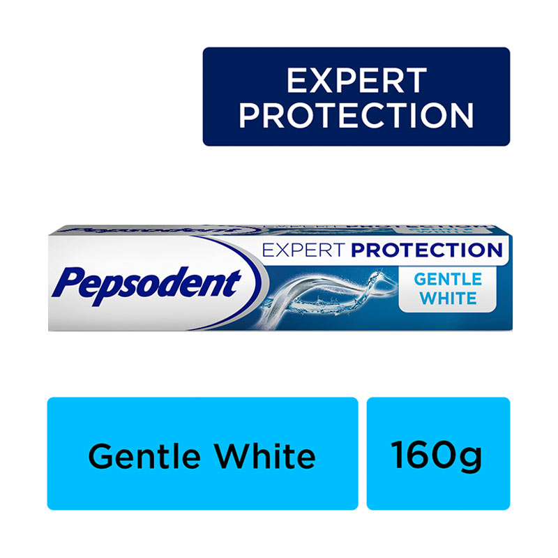 Pepsodent Expert Protection Pasta Gigi Gentle White 160g