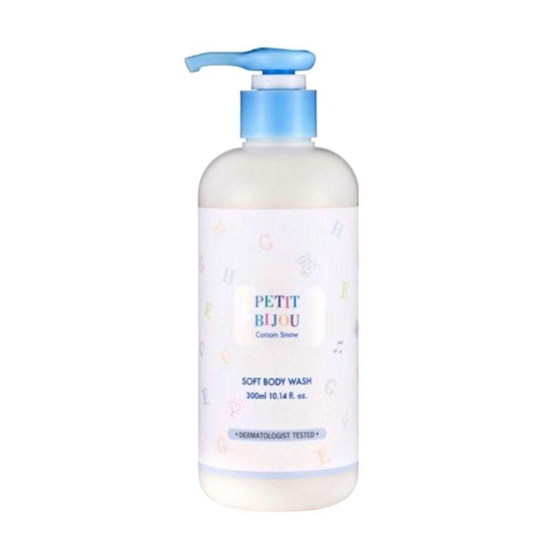 Etude Petit Bijou Cotton Snow Soft Body Wash Sabun Mandi [300 mL]