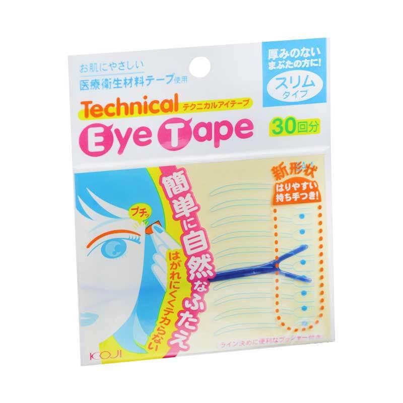 Koji Technical Eye Tape (Slim Type) Blue