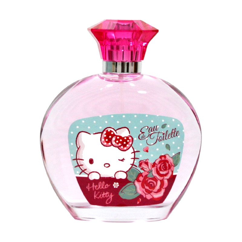 AirVal International Hello Kitty Flower EDT Parfum Wanita [100 mL]