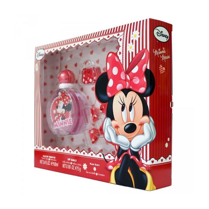 AirVal International Minnie Hair Clips EDT Parfum Wanita [Gift Set]