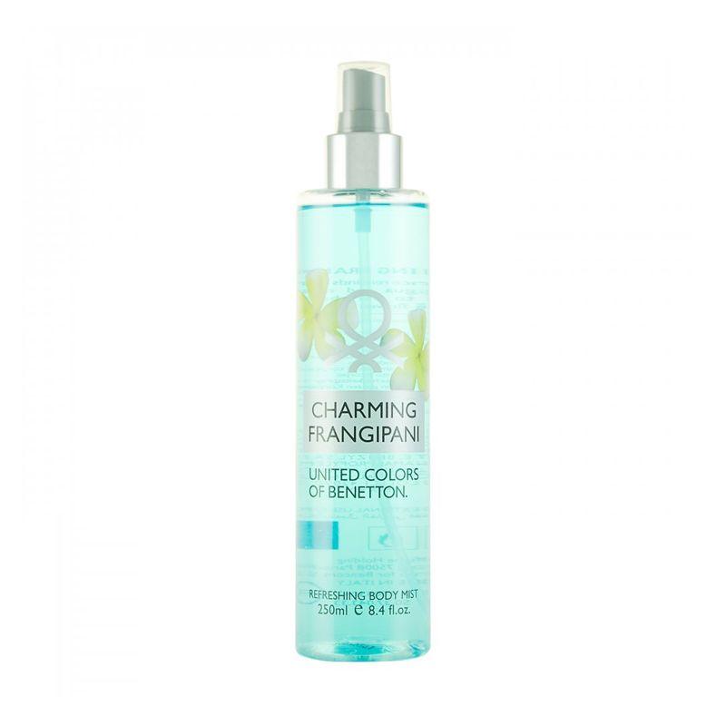 Benetton Charming Frangipani Body Spray Wanita [250 mL]