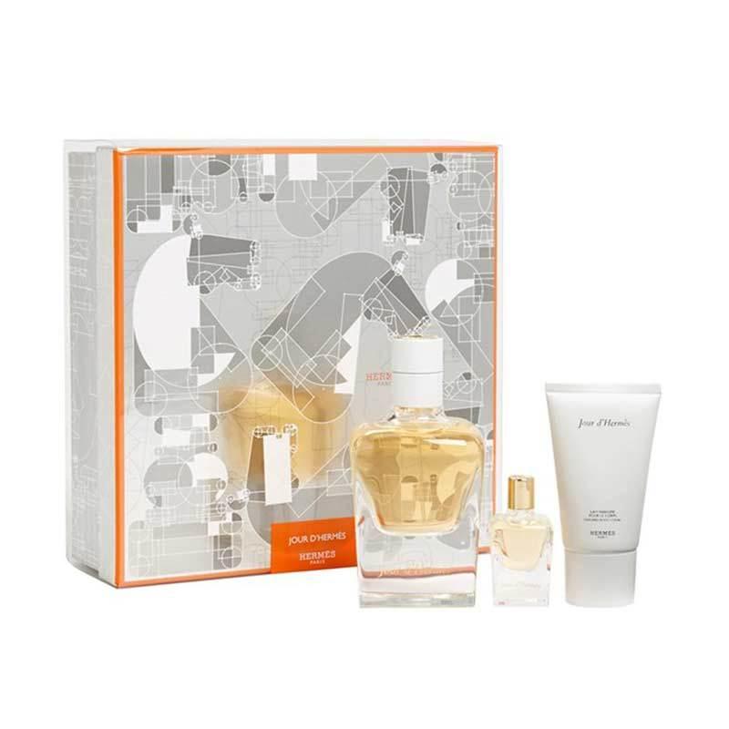 Hermes Jour d Hermes Parfum Wanita [Gift Set]