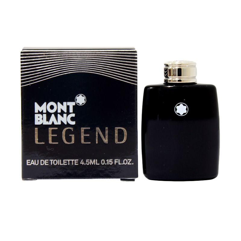 Montblanc Legend Man Miniatur EDT Parfum Pria [4.5 mL]