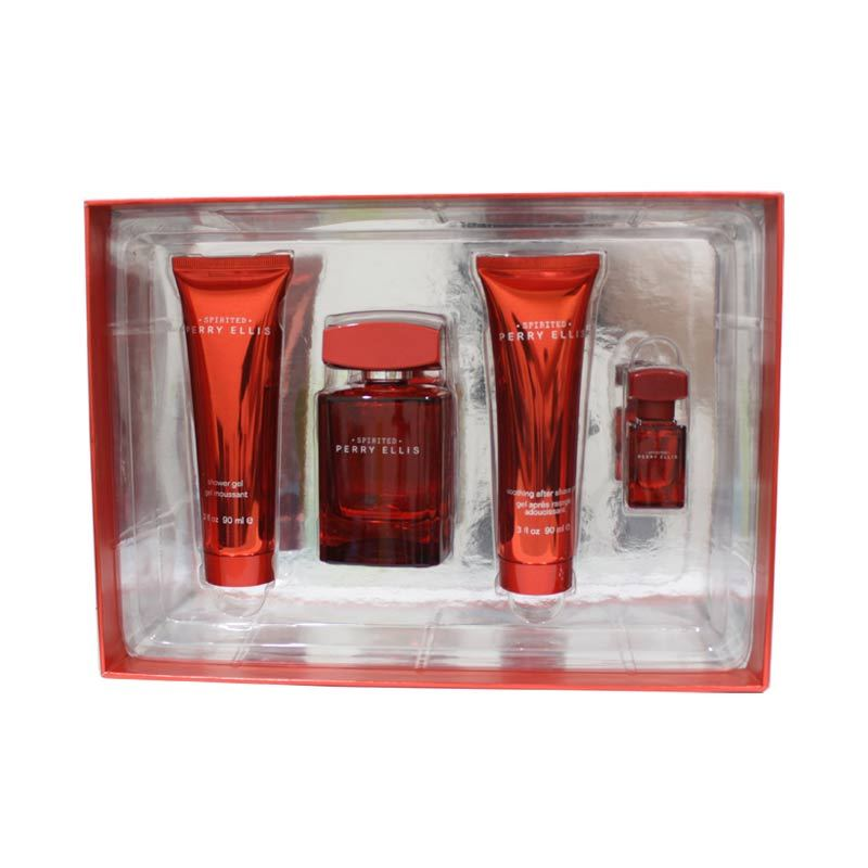 Perry Ellis Spirited Man (Gift Set)
