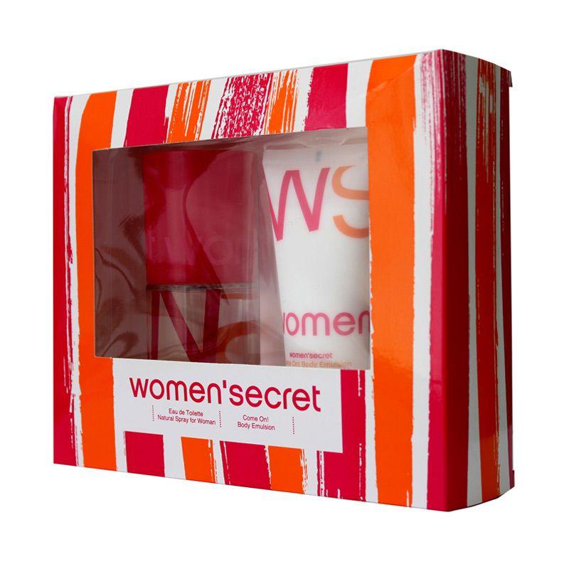 Women Secret WS EDT Gift Set Parfum Wanita [100 mL]