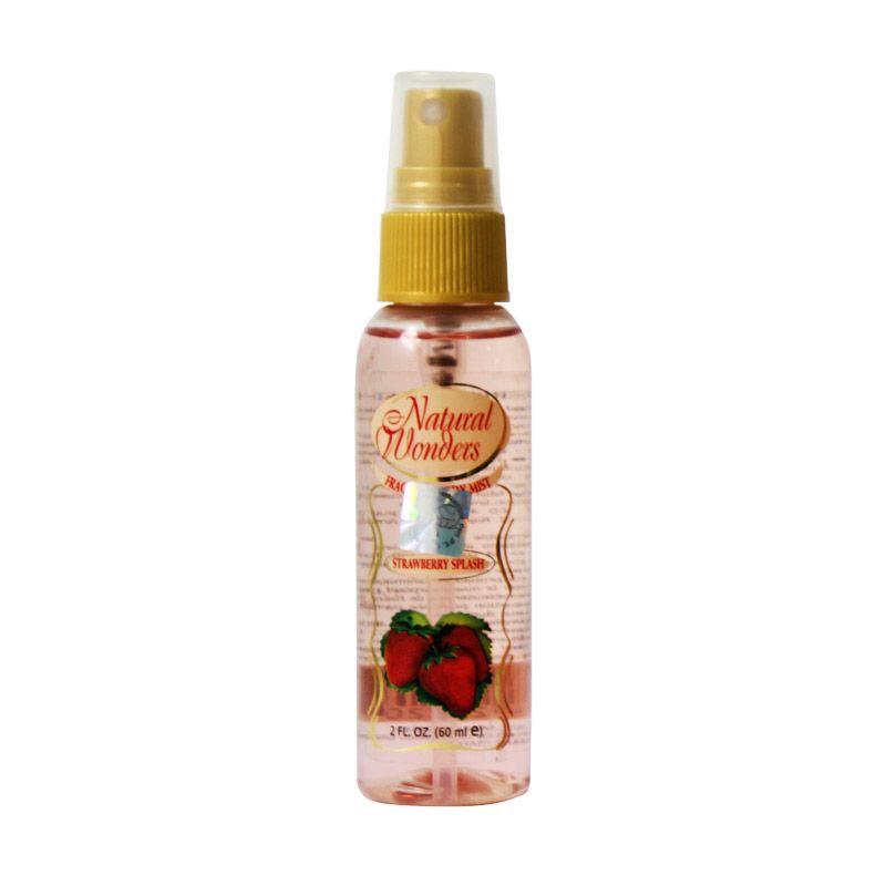 Natural Wonders Strawberry Splash Body Spray Wanita [60 mL]