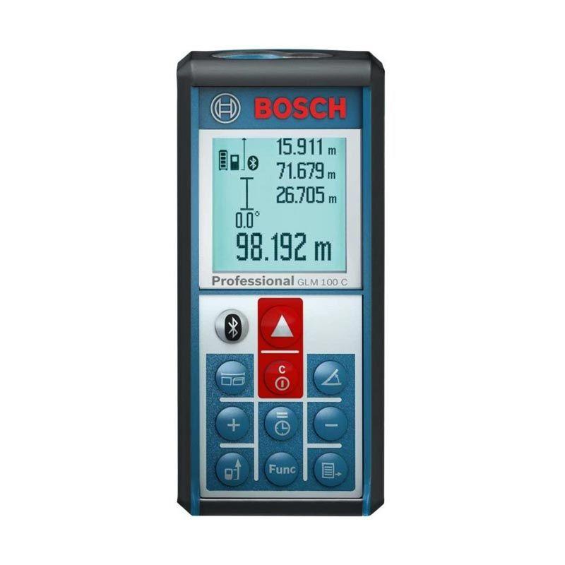 Bosch Meteran Laser GLM100C With Bluetooth