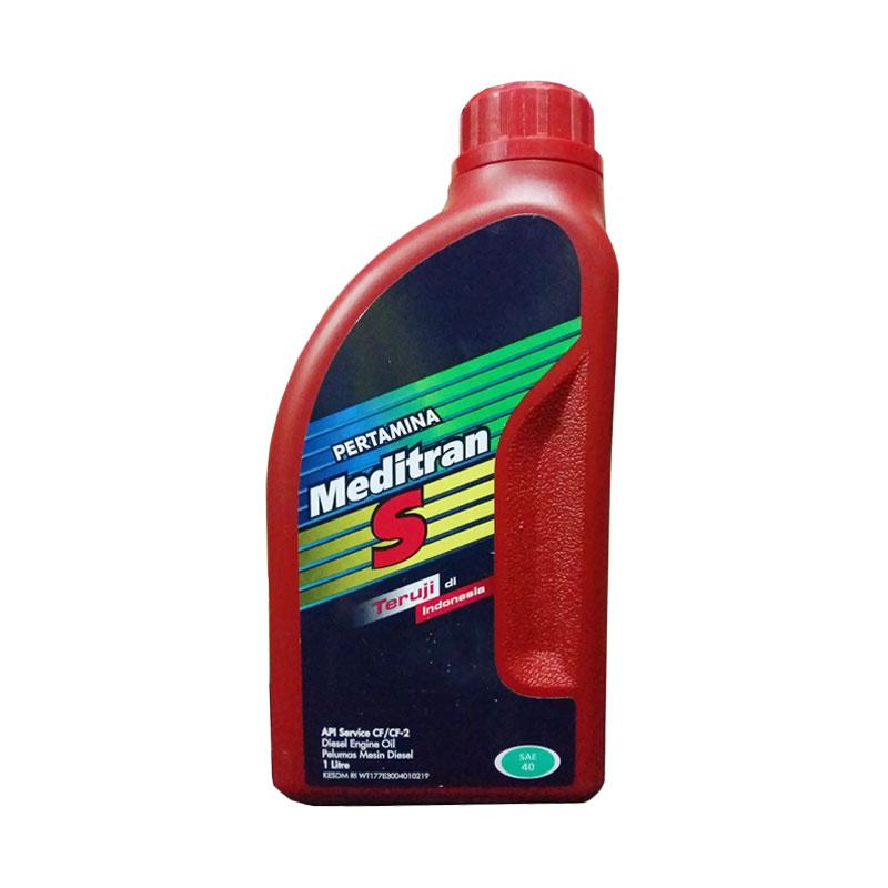 Pertamina Meditran S SAE 40 - Oli Mobil Mesin Diesel [1 L]