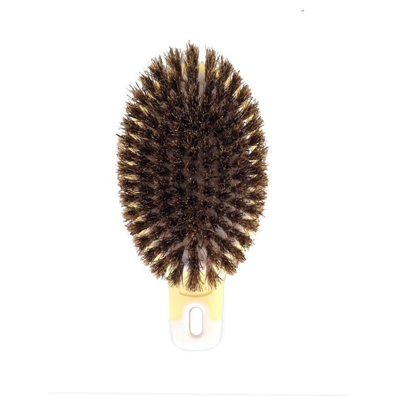 Pet Station Doggy Man Honey Smile HS Natural Bristle Brush For Dog HS42