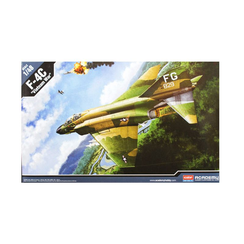 Academy F-4C Vietnam War Model Kit [1/48]