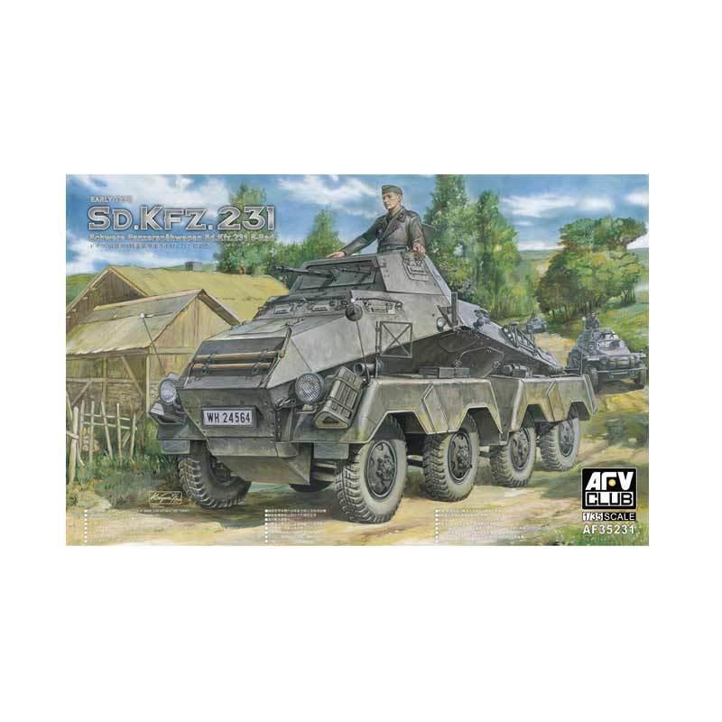 AFV CLUB Sd.Kfz.231 8-Rad Schwerer Panzerspahwagen