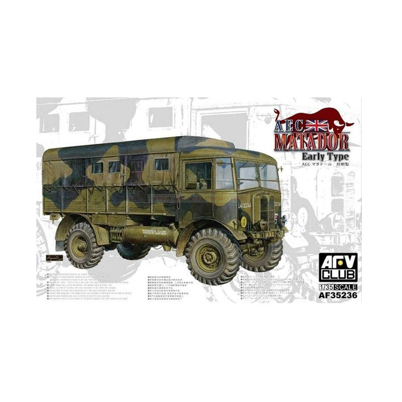ARV Club AEC Matador Early Type Model Kit [1/35]