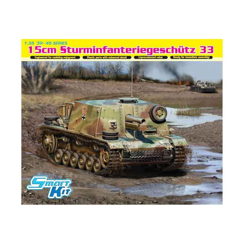 Dragon 15cm Sturminfanteriegeschutz 33 - Model Kit