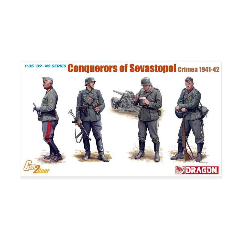 Dragon Conquerors of Sevastopol Crimea 1941-42 - Model Kit