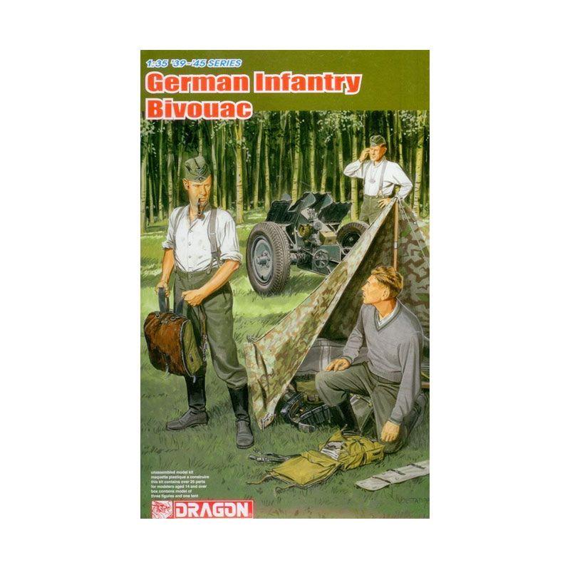 Dragon German Infantry Bivouac Model Kit [1/35]