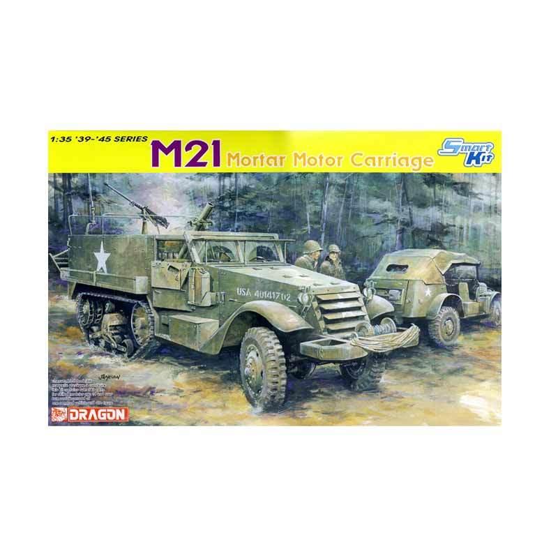 Dragon M21 Mortar Motor Carriage