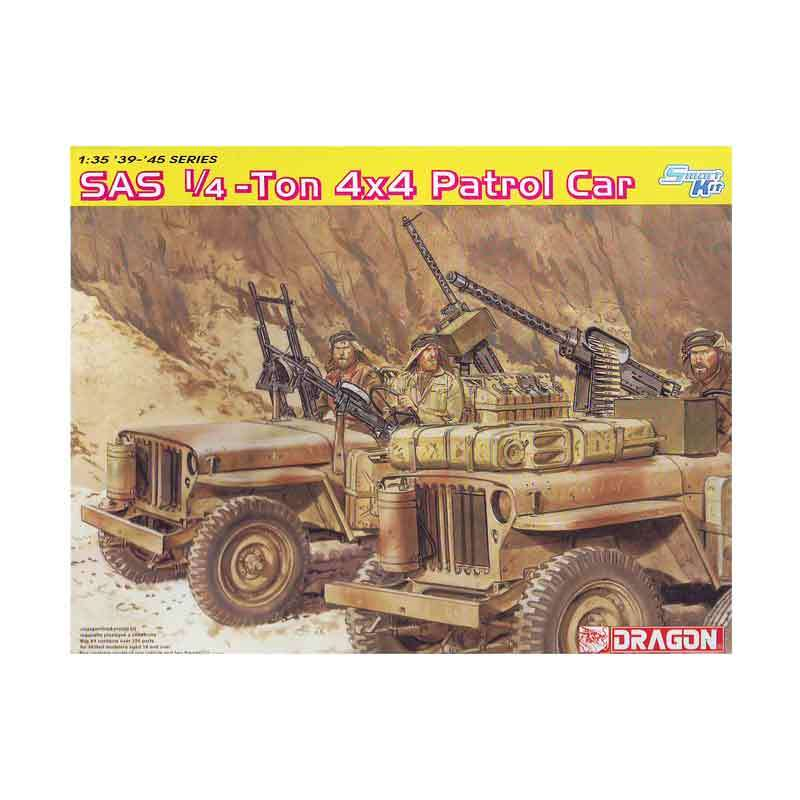 Dragon SAS 1/4-Ton 4x4 Patrol Car - Model Kit
