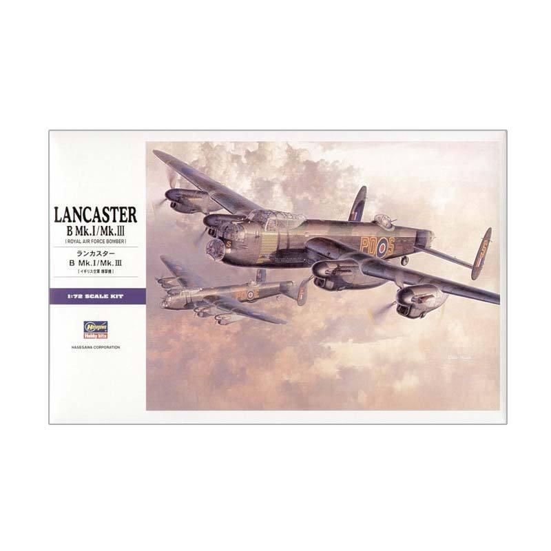 Hasegawa E23 Lancaster B.Mk.I/Mk.III