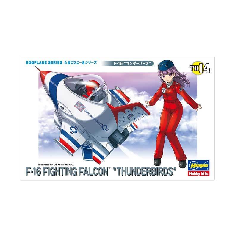 Hasegawa Egg Plane F-16 Fighting Falcon Thunderbirds