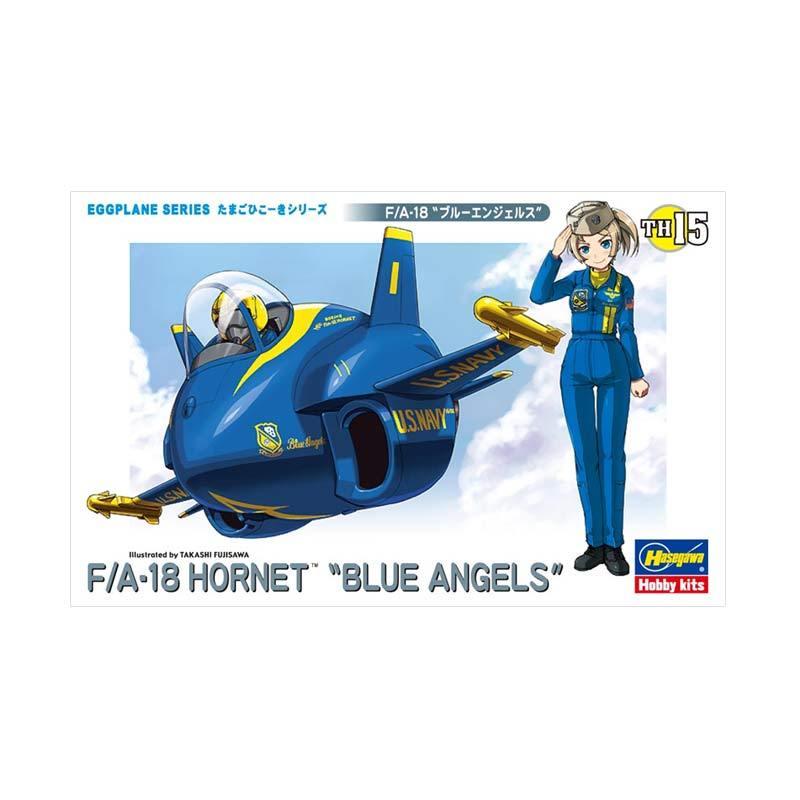 Hasegawa Egg Plane F/A-18 Hornet Blue Angels