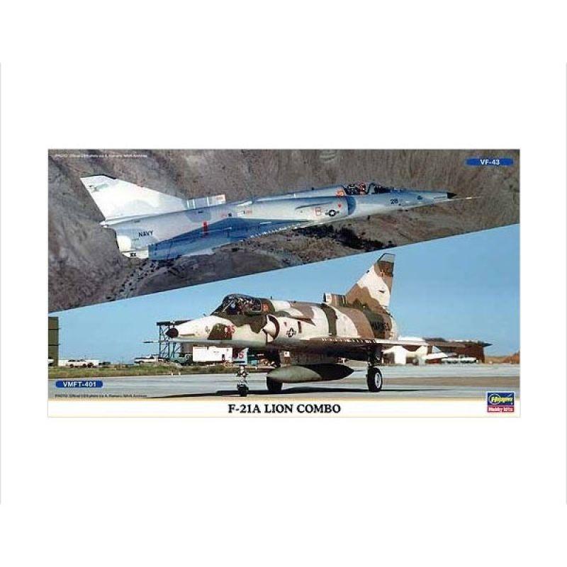Hasegawa F-21A Lion Combo