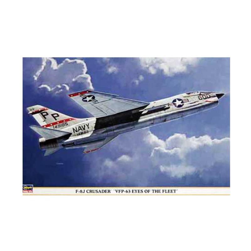 Hasegawa F-8J Crusader VFP-63 Eyes of the Fleet