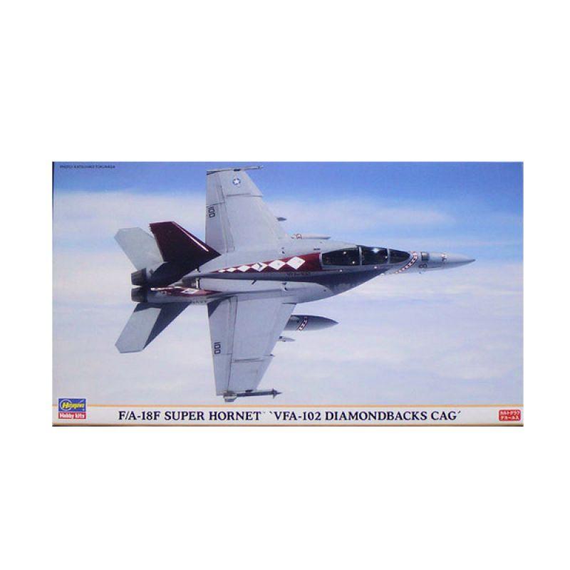 Hasegawa F/A-18F Super Hornet VFA-102 Diamondbacks CAG