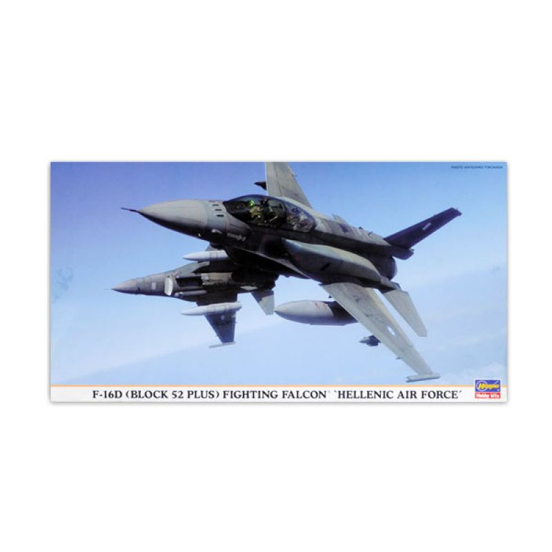 Hasegawa F16D Block 52 Fighting Falcon Hellenic Air Force