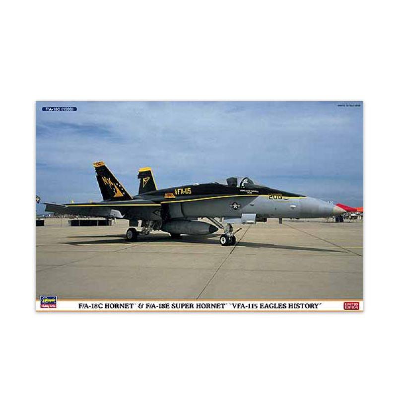 Hasegawa F A-18C E Hornet VFA-115 Eagles History