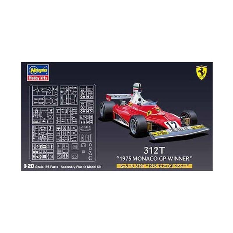 Hasegawa FG-2 Ferrari 312T 1975 Monaco GP Winner
