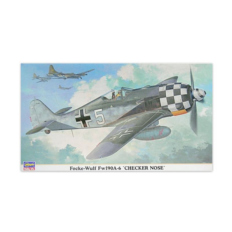 Hasegawa Focke Wulf Fw 190A 6 Checker Nose