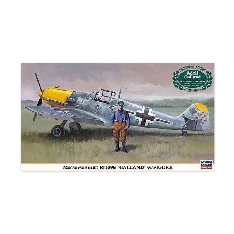 Hasegawa Messerschmitt Bf109E Galland w Figure