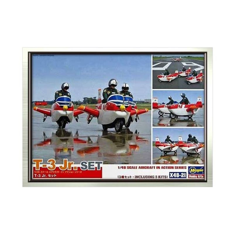 Hasegawa T-3 Jr. Set (3 kits included)