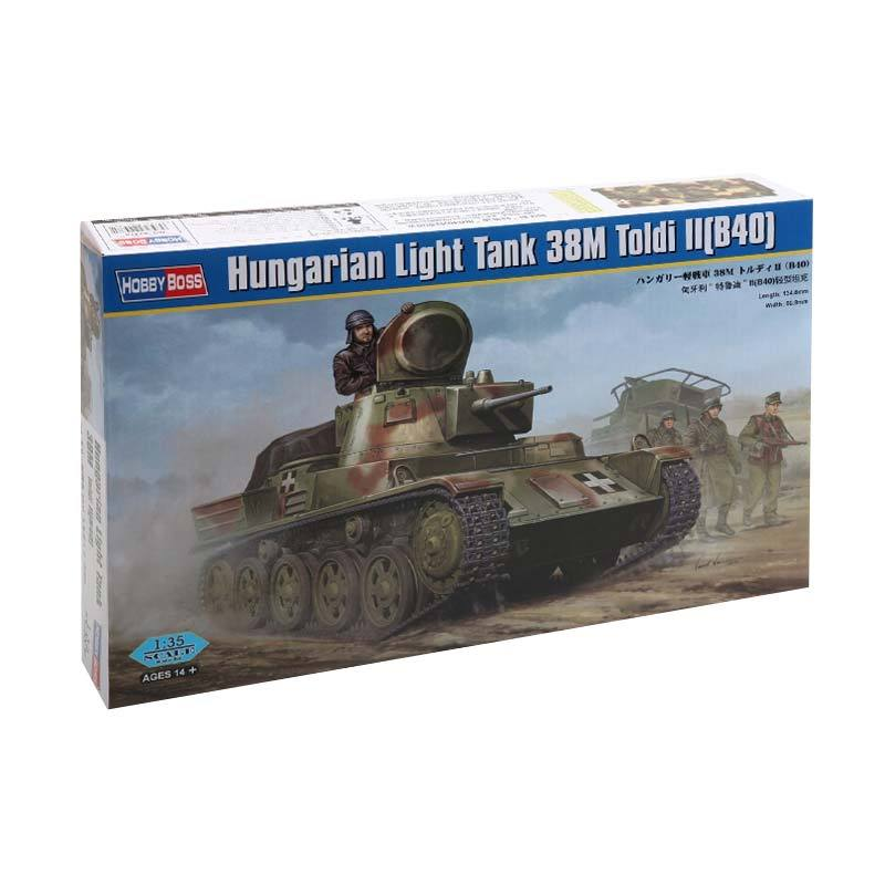 HobbyBoss Hungarian Light Tank 38M Toldi II B40