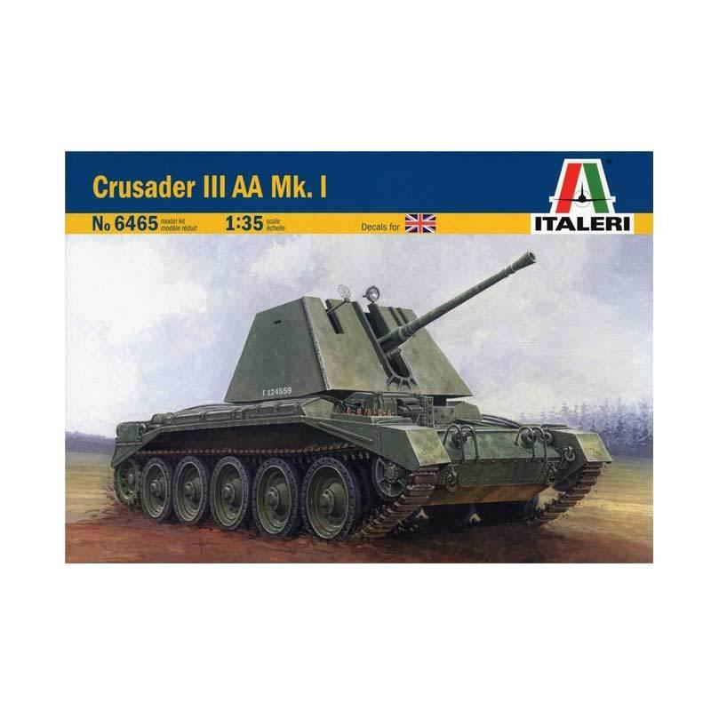 Italeri British Crusader III AA Mk.I