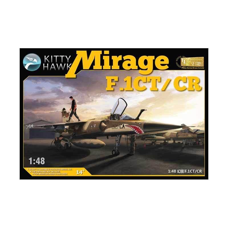 Kitty Hawk Mirage F.1CT/CR - Model Kit