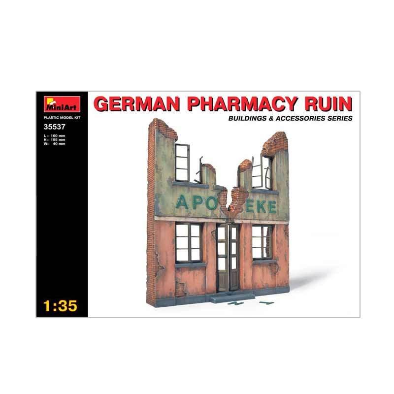 MiniArt Germany Pharmacy Ruin