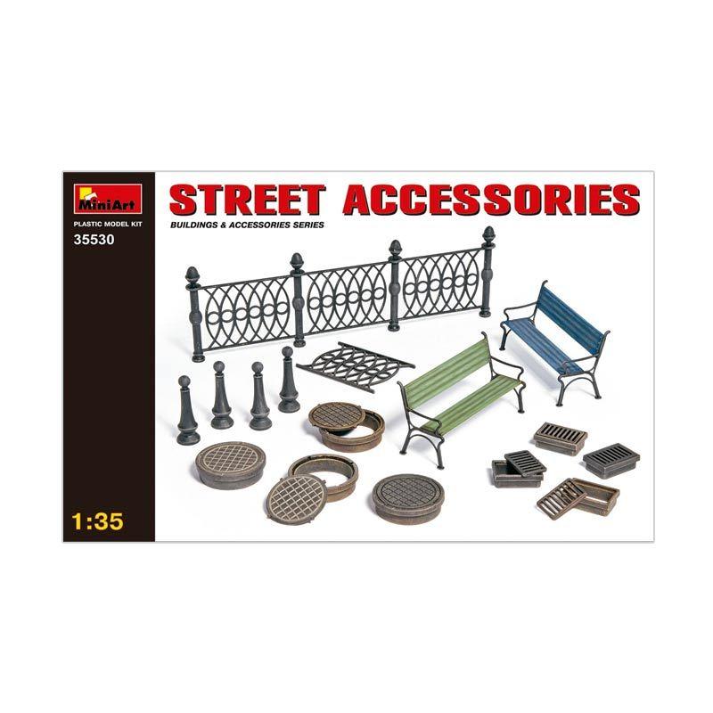 MiniArt Street Accessories