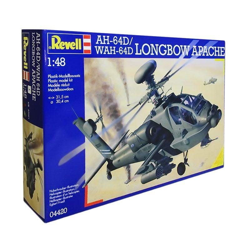 Revell AH-64D/WAH-64D Longbow Apache Model Kit [1/48]
