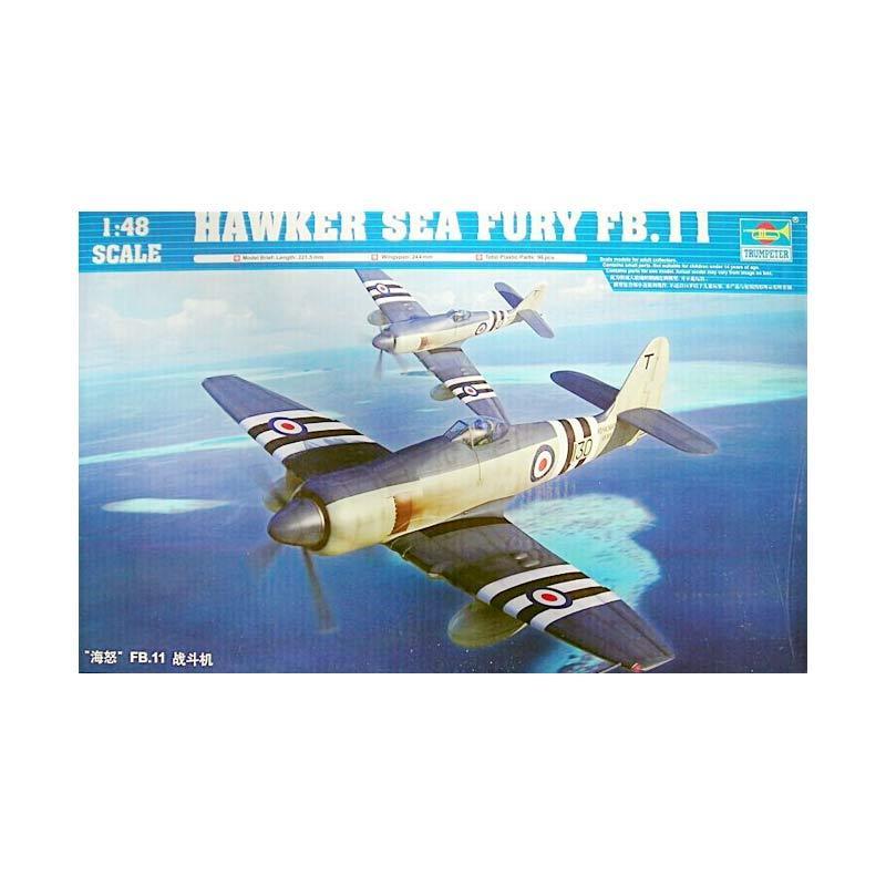 Trumpeter Hawker Sea Fury FB.11