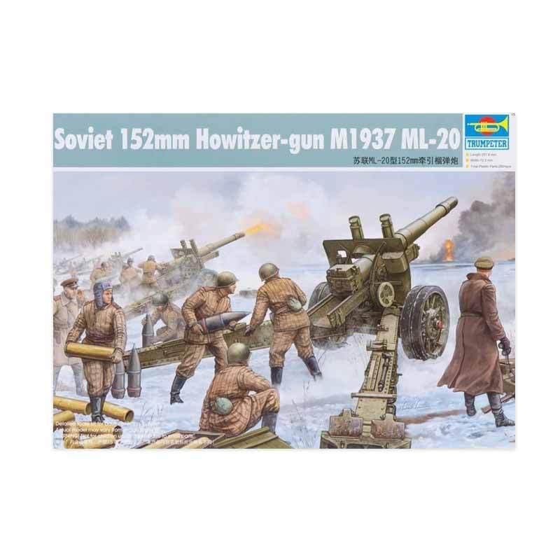 Trumpeter Soviet 152mm Howitzer-gun M1937 ML-20
